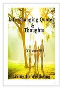 Life Changing Quotes & Thoughts (Volume 94)