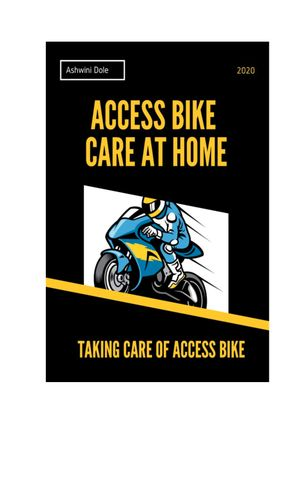 Access Bike Care at Home