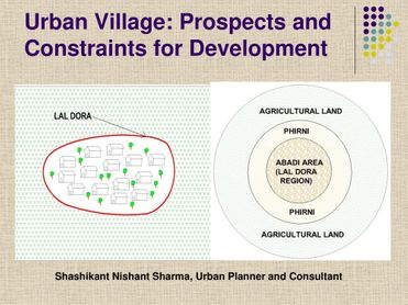 Urban Village: Prospects and Constraints for Development