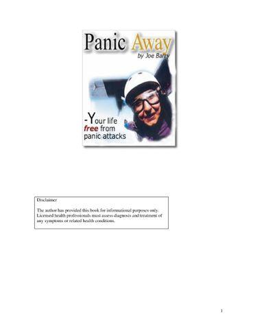 Panic Away Review PDF eBook Book Free Download