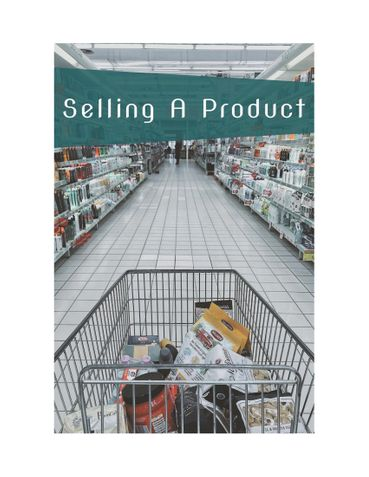 Selling A Product