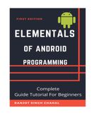 Elementals of Android Programming