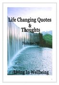 Life Changing Quotes & Thoughts (Volume 79)