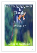Life Changing Quotes & Thoughts (Volume 57)