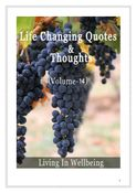 Life Changing Quotes & Thoughts (Volume 14)