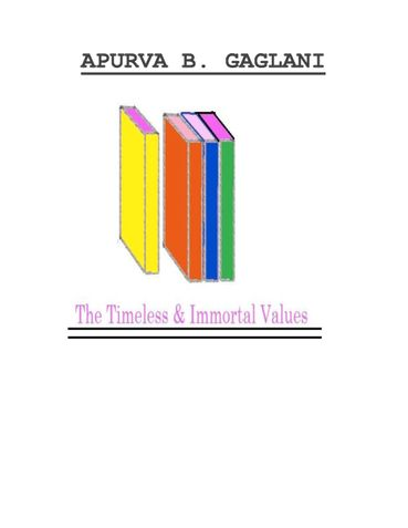 The Timeless And Immortal Values