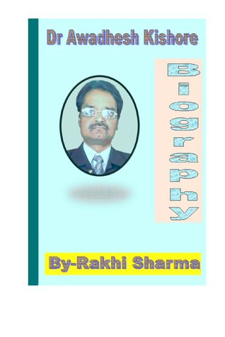 Dr. Awadhesh Kishore  (Biography)