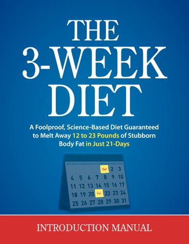 The 3 Week Diet Review PDF eBook Book Free Download