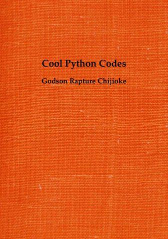 Cool Python codes