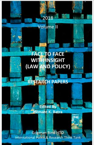 FACE TO FACE  WITH INSIGHT (LAW AND POLICY)