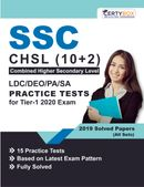 SSC CHSL(10+2) LDC/DEO/PS/SA Practice Tests for Tier-1 2020 Exam