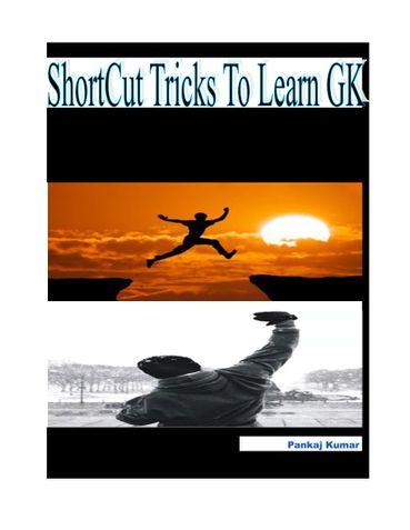 Shortcut Tricks To Learn GK