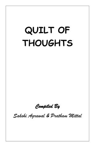 Quilt of Thoughts