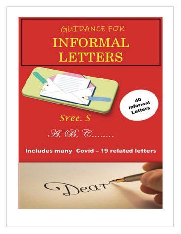 Guidance For Informal Letters