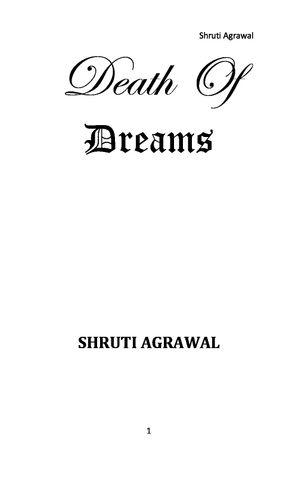 Death Of Dreams