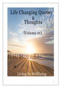Life Changing Quotes & Thoughts (Volume 19)