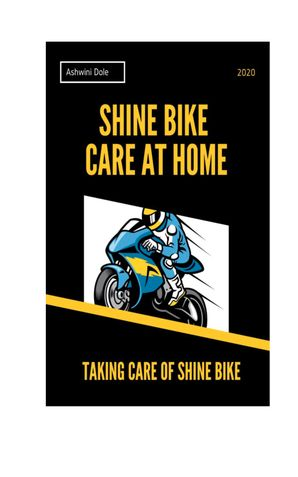 Shine Bike Care at Home