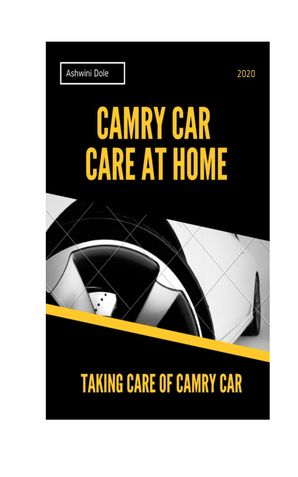 Camry Car Care at Home