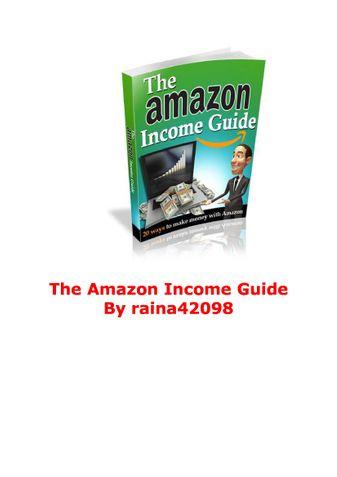 Amazon Income Guide