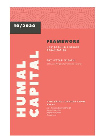 Human Capital Frameworks