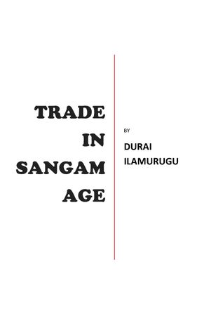 TRADE IN SANGAM AGE