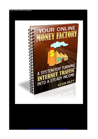 Your Online Money Factory