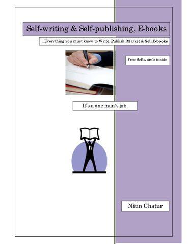 Self-Writing & Self-Publishing, E-books