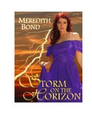 Storm On The Horizon, a paranormal Regency romance novella