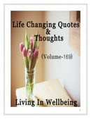 Life Changing Quotes & Thoughts (Volume 169)