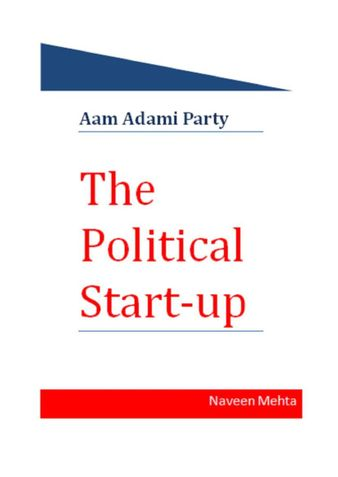 THE POLITICAL STARTUP