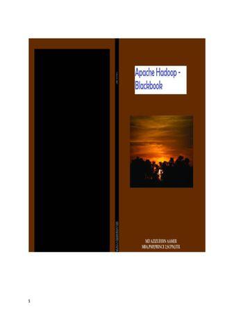 Apache Hadoop ( Big Data ) Blackbook