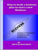 Step to draft a business plan to start a new Business