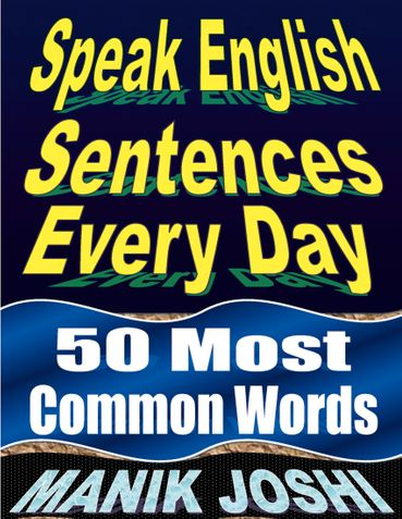 Speak English Sentences Every Day: 50 Most Common Words