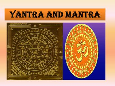 Yantra and Mantra- Coloured & Illustrated