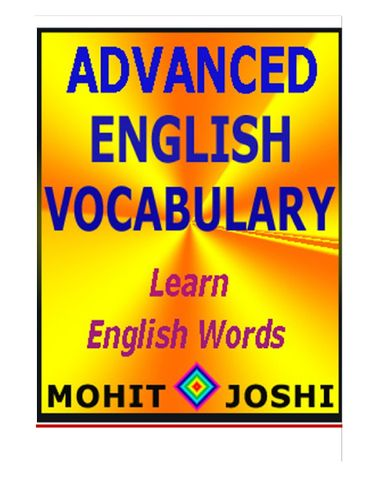 Advanced English Vocabulary