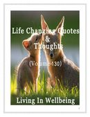 Life Changing Quotes & Thoughts (Volume 130)
