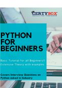 Python for Beginners - a quick book for Learners