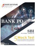 5 Mock Test Vol - I