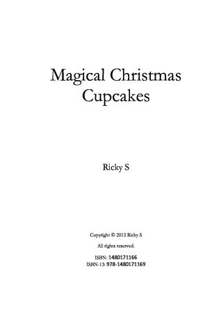 Magical Christmas Cupcakes
