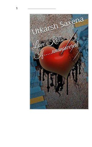 Love Kills If Unanswered