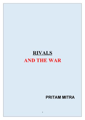 RIVALS AND THE WAR