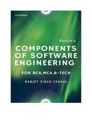Components of Software Engineering