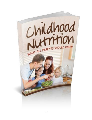 Your child is precious - Childhood Nutrition