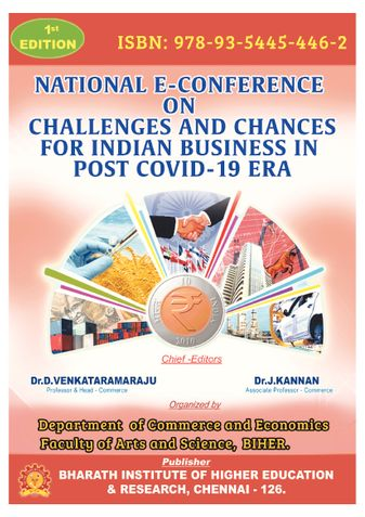 CHALLENGES AND CHANCES FOR INDIAN BUSINESS IN POST COVID-19-ERA