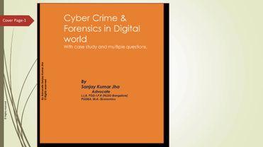 Cyber Crime & Forensics in Digital world