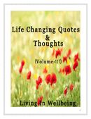 Life Changing Quotes & Thoughts (Volume 117)