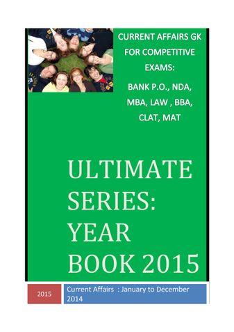 Ultimate Series: Year Book 2015