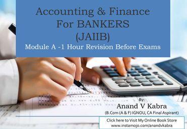 JAIIB Accounting & Finance Module A