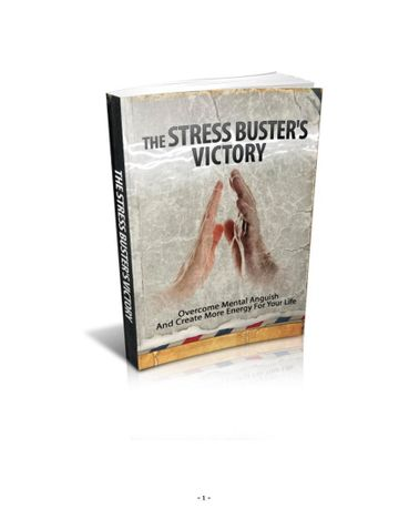 The stress buster's victory