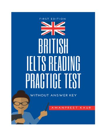 British IELTS Reading Practice Test without answer key